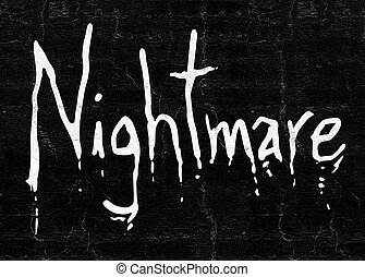 nightmare art symbol - creative design of nightmare symbol