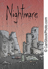 nightmare illustration