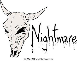 nightmare mask - Creative design of nightmare mask