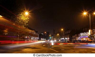 nighttime shots in london