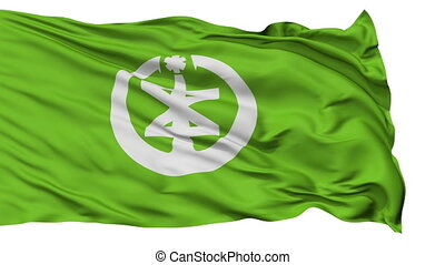 Niigata Capital City Isolated Flag - Niigata Capital City...