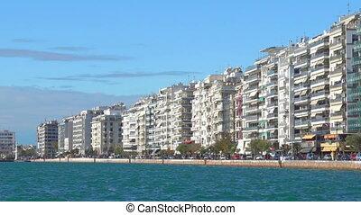 Nikis Avenue in Thessaloniki - Sea-front Nikis Avenue in...