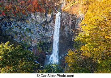 Nikko, Japan at Kegon Falls