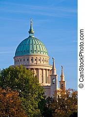 Nikolaikirche in Potsdam - Nikolaikirche (church) in...
