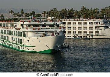 Nile cruises - cruises on the Nile river, Egypt