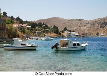Nimborios, Symi island
