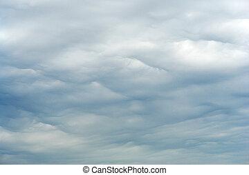 Nimbostratus clouds in the sky - Nimbostratus clouds are an...