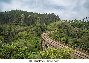 Nine arches bridge, Ella, Sri Lanka