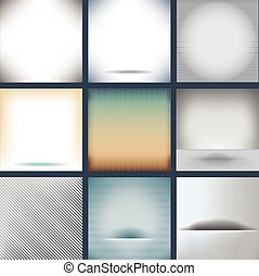 Assorted Plain Backgrounds