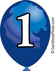 Nine balloon - Balloon number nine