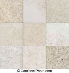 Nine different beautiful high quality marble textures. Ancient natural marble background with natural pattern. Every image 4 MP, 2000 x 2000.