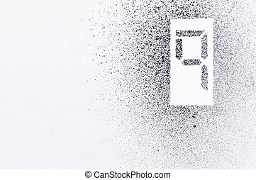 nine stencil number