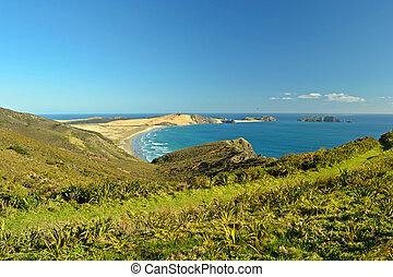 Ninety Mile Beach at Cape Reinga