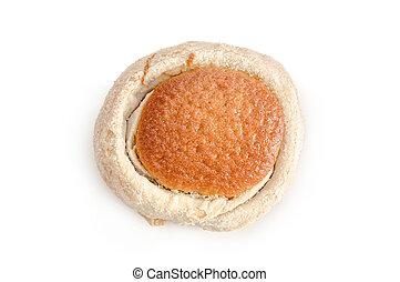 ninho, pão doce, tradicional, mexicano, panificadora