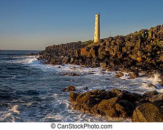 Ninini Point Lighthouse on Nawiliwili Bay