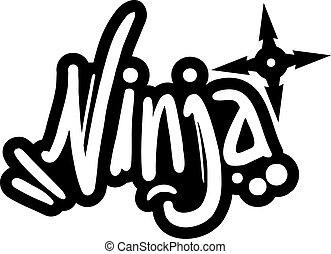 ninja, bannière