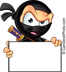 ninja, caractère, sournois
