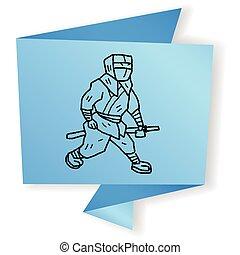 ninja doodle