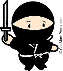 ninja, guerrier