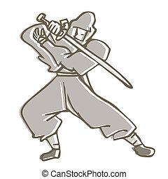 ninja, held