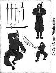 ninja illustration