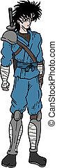 Ninja man - Creative design of ninja man