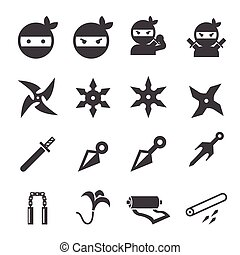 ninja, pictogram