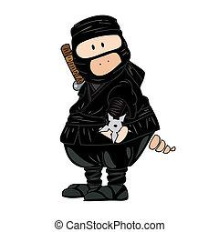 ninja, pig.
