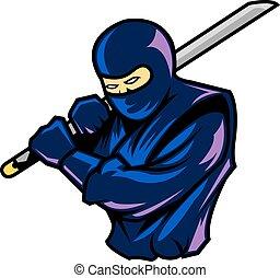ninja, szilárd