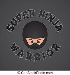 ninja, thème, caractère