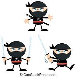 Ninja Warrior Flat Design