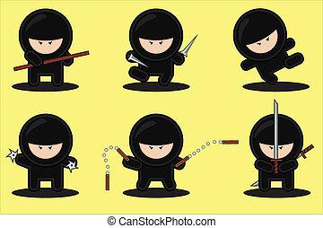 ninjas, bande