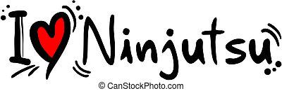 ninjutsu, liefde