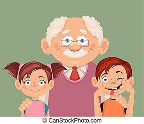 nipoti, nonno