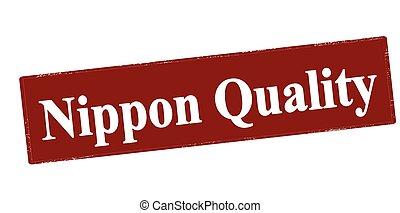 nippon, qualidade