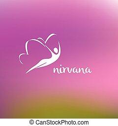 Nirvana logo - Vector logo center of psychological care,...