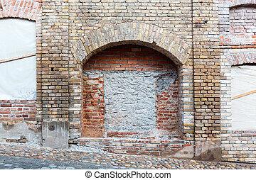 Marvelous Nische, Auf, Brickwall
