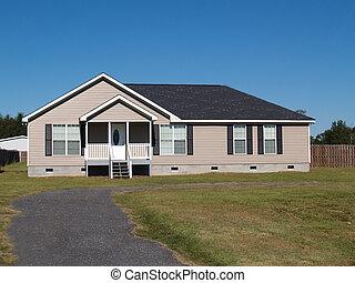 niski, dochód, wyprodukowany, dom