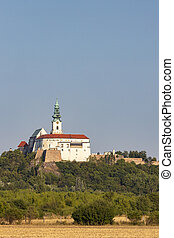Nitra castle in Slovak Republic