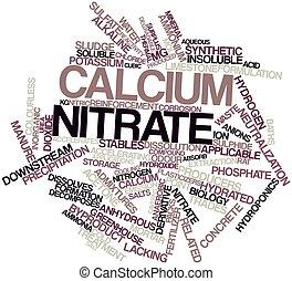 nitrate, calcium