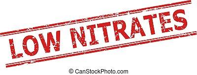 nitrates, estampilla, líneas, paralelo, estilo, corroído, bajo, doble