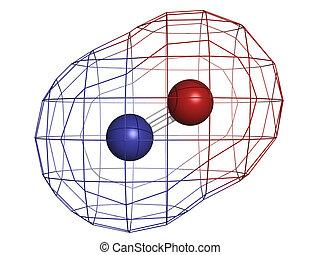 Nitric oxide (NO) free radical and signaling molecule,...