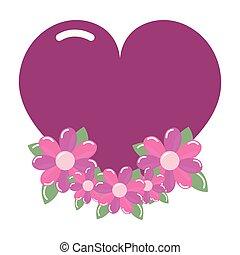 nitro, láska, květiny, uspořádání