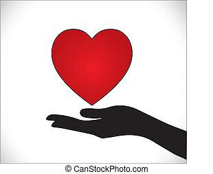 nitro, péče, nebo, láska, ochrana