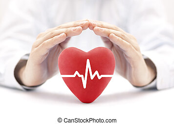 nitro, tep, pokrytý, do, hands., zdravotní pojištění, pojem