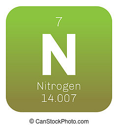 Nitrogen chemical element periodic table science symbol nitrogen chemical element urtaz Image collections