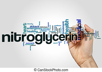 nitroglycerin, 単語, 雲