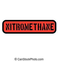 nitromethane stamp on white - nitromethane black stamp on...