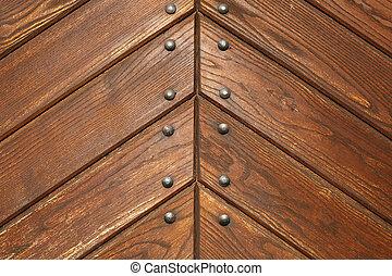 nits, ブラウン, 板, 木製の肉質, 背景, ∥あるいは∥