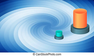 niveaux, graphique, vague, information, circulaire, business...